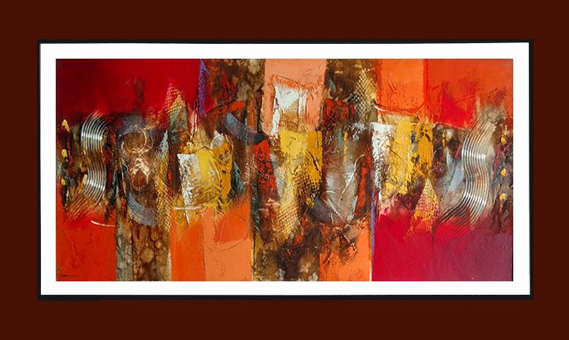 venta de cuadros decorativos y pinturas al leo dado rojo