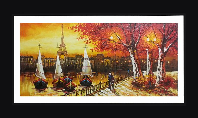 Venta de cuadros decorativos y pinturas al leo dado rojo for Comprar cuadros al oleo